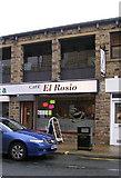 SE1039 : Cafe El Rosio - Park Road by Betty Longbottom