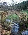 NZ0919 : Wall bridge over Forthburn Beck by Andy Waddington