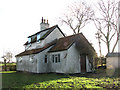 TM1886 : The Waveney Valley Line - a former crossing keeper's cottage by Evelyn Simak