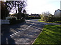 TM2972 : Framlingham Road, Laxfield by Adrian Cable