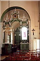 TL1922 : Chancel screen, St. Paul's Walden, Herts. by nick macneill