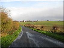 TF3380 : Wolds Road - Downhill by Alan Heardman