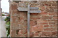 NY6925 : Signpost on the Pennine Way by Bill Boaden