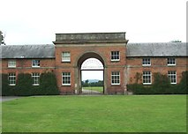 SJ5409 : Stable block, Attingham Park by Simon Huguet