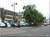 NU1813 : Alnwick town centre by Simon Huguet