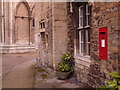 TL1998 : Peterborough: postbox № PE1 134, Cathedral Green by Chris Downer