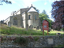 SE7290 : St Mary's church in Lastingham by Philip Barker