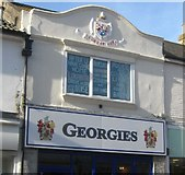 TQ2804 : George Street, Hove by Peter Whitcomb