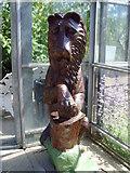 NJ9304 : Androcles' Lion, Duthie Park Winter Gardens by Paul Chapman