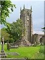 ST5763 : Cross and church, Chew Magna by Derek Harper