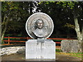 G6615 : Brother Walfrid sculpture by Willie Duffin