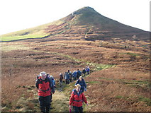 NZ5812 : Walkers on Roseberry Common by Philip Barker
