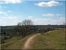 SU4827 : Walking along the ramparts by Bill Boaden