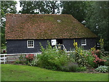 TQ5509 : The old water mill at Michelham Priory, East Sussex by nick macneill