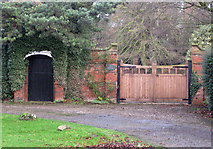 TA0816 : Gateway, Old Vicarage, Wootton by David Wright