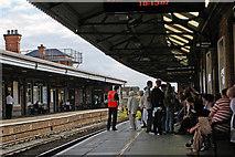SO8455 : Platform 2, Worcester Foregate Street by Phil Champion