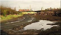 J3475 : Weir and cross-harbour links. Belfast (12) by Albert Bridge