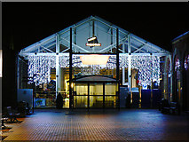 SU1484 : Entrance to Swindon Designer Outlet, Swindon by Brian Robert Marshall
