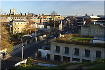 SP5106 : View East From Castle Mound, Oxford by Peter Trimming