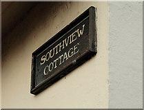 J3472 : Southview Cottages sign, Belfast by Albert Bridge