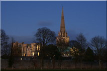 SU8504 : Chichester Cathedral by Peter Trimming