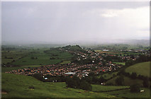 ST5038 : Wearyall Hill from the side of Glastonbury Tor by Michael Jagger