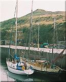 SC2484 : Lying alongside, Peel Harbour by Donald MacDonald