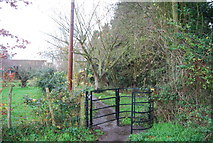 TR1859 : Kissing Gate on the Stour Valley Walk by N Chadwick