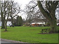 NZ2015 : Piercebridge village green - winter view by Philip Barker