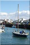SH5638 : Porthmadog - Harbour by Ken Bagnall