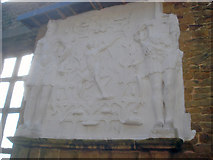 SK4663 : The plasterwork of Hill Great Chamber - 2 by Trevor Rickard