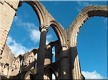 SE2768 : Soaring arches at Fountains Abbey by Neil Theasby