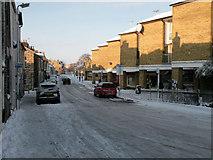 TL4658 : December Snow 2009 - Norfolk Street by Keith Edkins