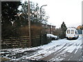 SU6306 : Recent snow in Huntley Close by Basher Eyre