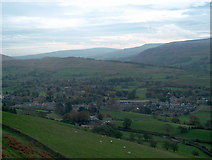 SD6592 : Sedbergh from the slopes of Winder by Bill Boaden
