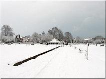 TQ3005 : Preston Park in the Snow by Simon Carey