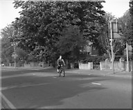TQ3060 : The lone cyclist by Dr Neil Clifton