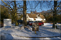 TQ2897 : Entrance to Trent Country Park, London N14 by Christine Matthews