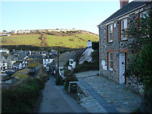 SW9980 : Roscarrock Hill, Port Isaac by Bill Henderson