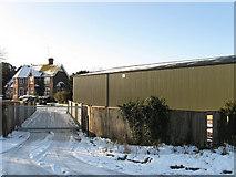 TQ2912 : Haresdean Farm by Simon Carey