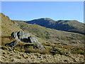 SN7889 : Rock outcrop on Banc Lluestnewydd by Nigel Brown