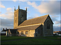 SW9271 : St Issey Church, St Issey, Cornwall by Bill Henderson