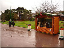 SZ0891 : Bournemouth: nativity scene in the Gardens by Chris Downer