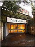 SZ0891 : Bournemouth: former subway, now an entrance to Debenham's by Chris Downer
