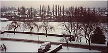 SP0483 : Winter on campus and Bournbrook by Michael Westley