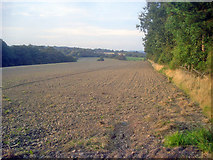 SK4464 : Farmland south of Stainsby by Trevor Rickard