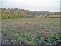 SK4464 : Farmland west of the M1 by Trevor Rickard