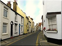TR3752 : Middle Street from the corner with Brewer Street by Rose and Trev Clough