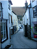 SW9980 : Fore Street, Port Isaac by Bill Henderson