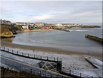 NZ3671 : Cullercoats Bay by Andrew Curtis